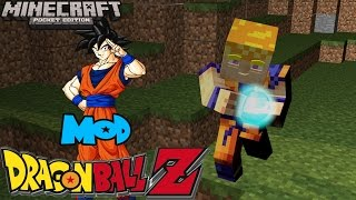 getlinkyoutube.com-Mod Dragon Ball Z-Minecraft PE 0.10.5