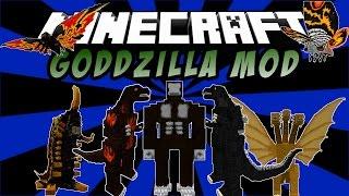 GODZILLA MOD: King Kong, Doran, Mothra, Battra - Minecraft Mod 1.7.10
