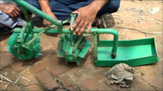 getlinkyoutube.com-Use of Cono weeder in SRI Jeevika Nalanda Bihar