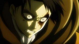 getlinkyoutube.com-リヴァイ&ミカサ 女型巨人との戦闘シーン 【進撃の巨人 22話】 (HD)  Attack on titan ep.22
