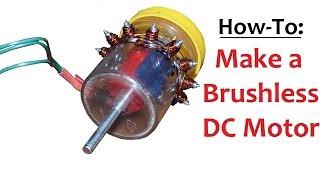 getlinkyoutube.com-How to Make a Brushless DC Motor Inrunner