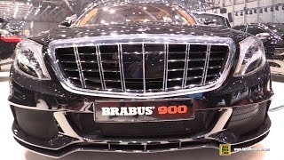 getlinkyoutube.com-2016 Mercedes Maybach S600 Brabus Rocket 900 - Exterior Interior Walkaround - 2016 Geneva Motor Show