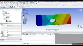 getlinkyoutube.com-ANSYS Workbench Tutorial - Introduction to Static Structural