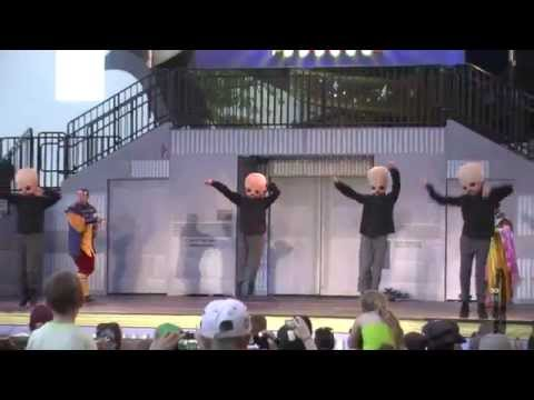Star Wars Weekend 2011 - Best of Hyperspace Hoopla - Metallica Vader &amp; Chewbacca Axl
