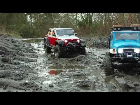 &quot; INTO THE MUD &quot; SCALE CRAWLER COOPERATION RUHR