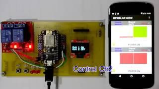 ESP8266 IoT Thingspeak Control Devices