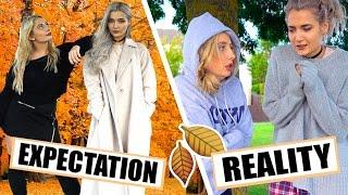 AUTUMN / FALL EXPECTATIONS VS REALITY!!! W ROXXSAURUS