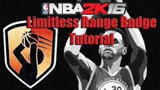 getlinkyoutube.com-NBA 2k16| Limitless Range Badge Tutorial