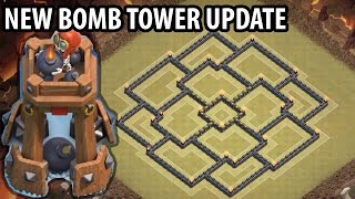 getlinkyoutube.com-Clash of Clans - TH9 War Base + BOMB TOWER - Town Hall 9 Trophy Base Anti 2 Star