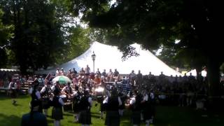 Fergus Pipe Band Competition Kincardine  2015