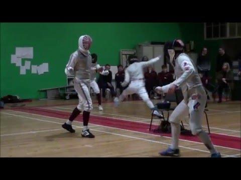 Yorkshire Senior Foil 2016   Semi and Finals