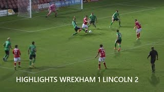 getlinkyoutube.com-GOALS Wrexham AFC 1 Lincoln City 2