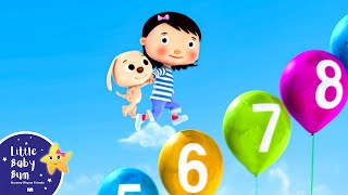 getlinkyoutube.com-Numbers Song 1-10 | Part 2 | Nursery Rhymes | Original Song by LittleBabyBum!