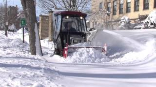 Ventrac Powerful Sidewalk Snow Blower