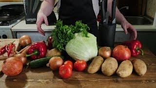 getlinkyoutube.com-Как порезать овощи не потеряв пальцы?