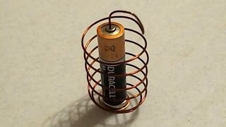 getlinkyoutube.com-DIY: How To Make a Simple Homopolar Motor