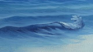 getlinkyoutube.com-Fan Brush Sea - Painting Lesson