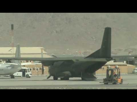 Kabul Airport, Afghanistan 27.05.2010 part 1