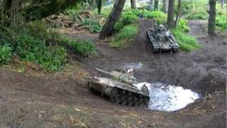getlinkyoutube.com-1:6 scale American Tank Tour of Ardwell