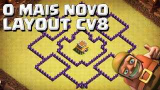 getlinkyoutube.com-O MAIS NOVO LAYOUT DE GUERRA CV8 ANTI DRAGÃO+ANTI VALQUÍRIA+ANTI GOWIPE - CLASH OF CLANS