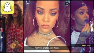 Rihanna - Snapchat Video Compilation (Best 2016★)