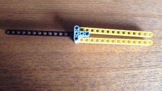 getlinkyoutube.com-how to make a Lego butterfly knife
