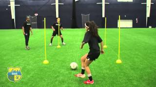 getlinkyoutube.com-NXTsoccer Training First Touch 4 post drill