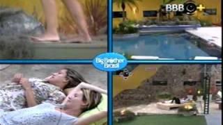 getlinkyoutube.com-Diana e Natália BBB11 - Papo depois da indicação