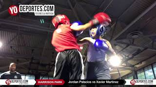 Jordan Palacios vs Xavier Martinez  Chicago Harrison Park Boxing Event