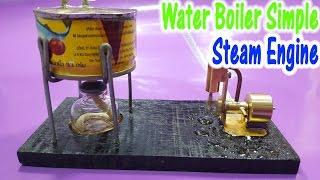 getlinkyoutube.com-How to make a Boiler Simple to use Steam Engine