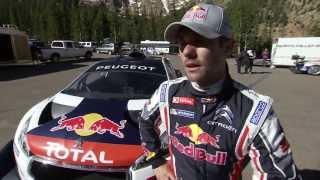 Vidéo 1ers essais Sébastien Loeb 208 T16 à Pikes Peak