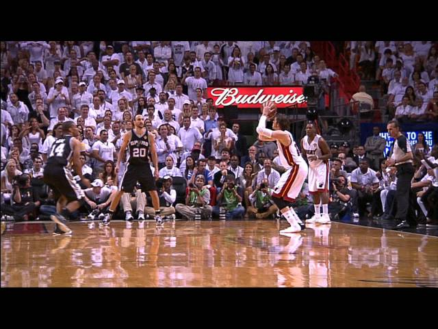 Mike Miller's Shoe-less Three from All Angles!