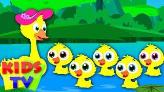 Five Little Ducks | Nursery Rhymes | Kids Songs | Baby Rhymes | Children Videos
