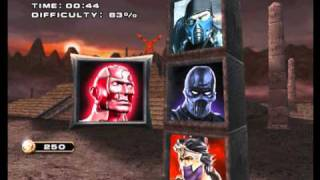getlinkyoutube.com-MORTAL KOMBAT ARMAGEDDON played as STREET FIGHTER 2 FIGHTERS