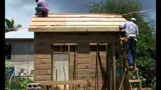getlinkyoutube.com-Hurricanes: How to build a safer wooden house