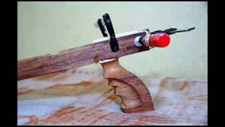 getlinkyoutube.com-Wooden Speargun Homemade