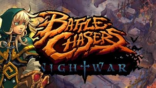 getlinkyoutube.com-Awesome New RPG... Battle Chasers: Night War (Gameplay Discussion)