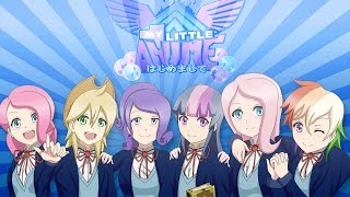 getlinkyoutube.com-[マイリトルアニメ] My Little Anime - Galaxyart