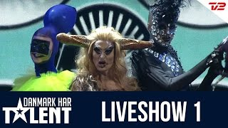 getlinkyoutube.com-Dennis Agerblad Bands optræden i første liveshow - Danmark har talent