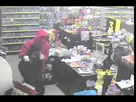 Surveillance Video: Dollar General Armed Robbery