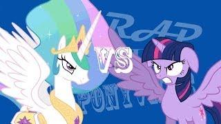 getlinkyoutube.com-Epic Rap Battles of Ponyville: Princess Celestia VS Twilight Sparkle