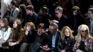 getlinkyoutube.com-Front Row @ ACNE Studios Paris Fashion Week 7 march 2015