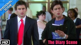 The Diary Scene - Emotional Scene - Kal Ho Naa Ho - Shahrukh Khan, Saif Ali Khan & Preity Zinta