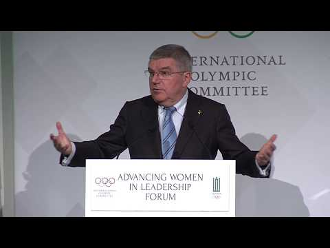 IOC Advancing Women in Leadership Roles Forum for Europe - Opening Session