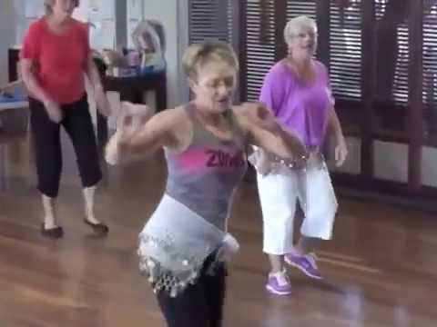Zumba Gold Seniors at Halcyon April 2013