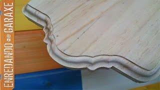 getlinkyoutube.com-Cortar y fresar moldura en tabla de madera