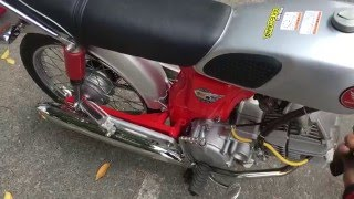 getlinkyoutube.com-Test Honda Ss50 with Engine Daytona Anima 150cc - 4 Valve... Made In Thắng Vĩnh Lộc