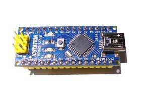 getlinkyoutube.com-Обзор Arduino Nano v3.0. Порты. Распиновка. Подключение