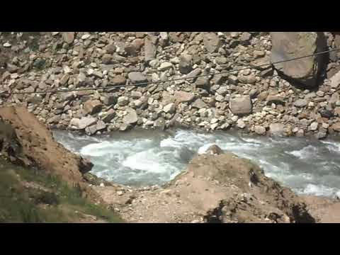 Kunhar river originating from lake saif ul malook