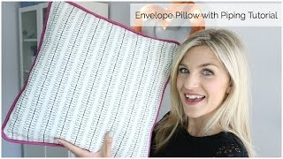 getlinkyoutube.com-Envelope Pillow with Piping Tutorial